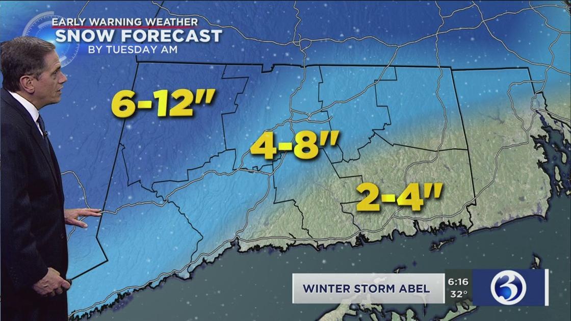 Winter Storm Abel brings round 2 of snow tonight