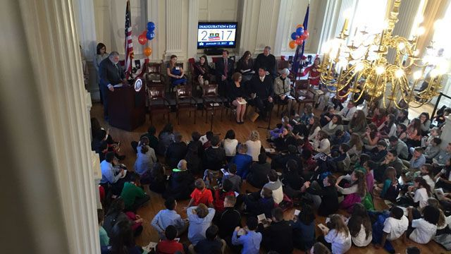 Milford girl sworn in as 2nd ever Kid Governor of CT