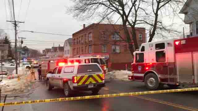 Reported gas leak turned out to be service leak in Waterbury