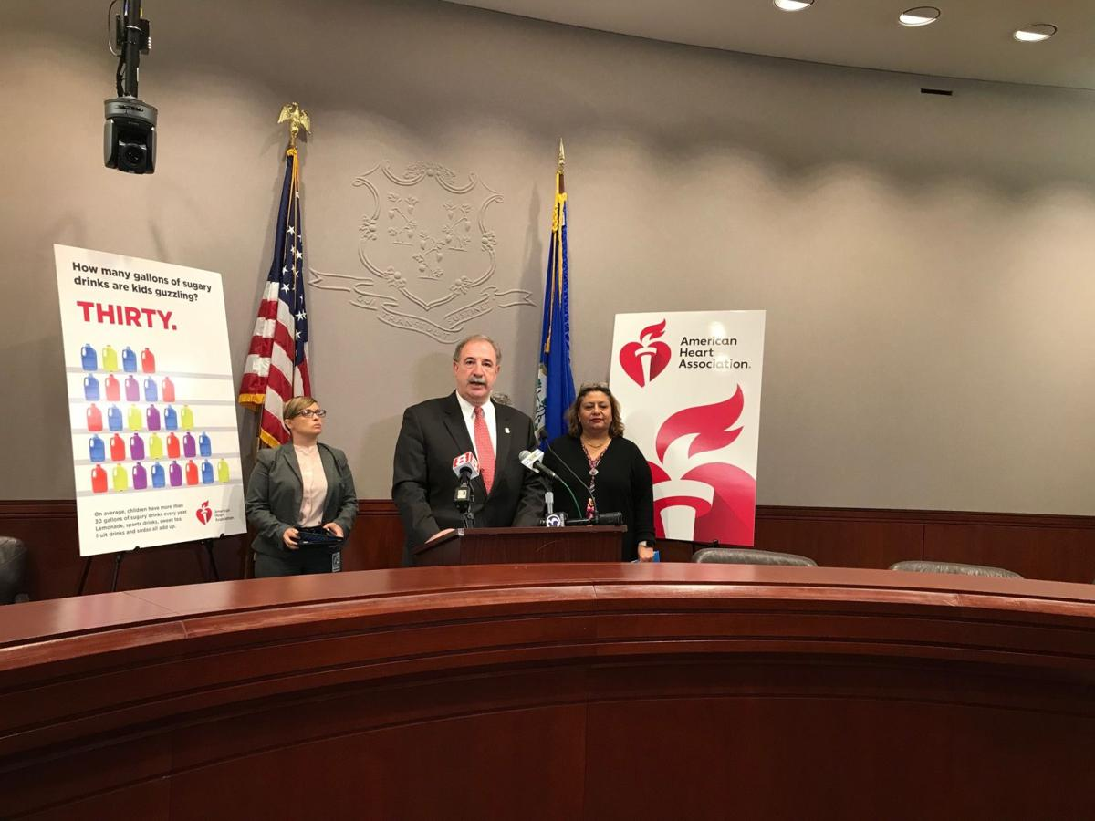 Sugary drinks news conference