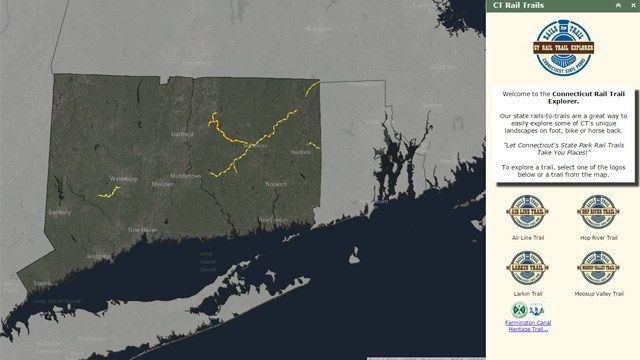 Hiking in CT goes high tech with new online mapping system