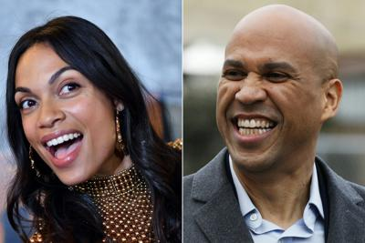 Cory Booker and actress Rosario Dawson are dating, she confirms