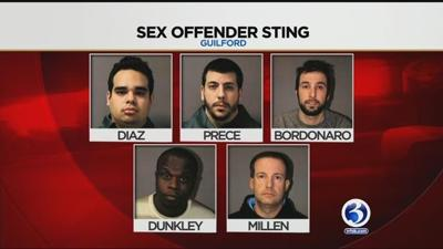 Ellington man among five accused in Guilford sex sting