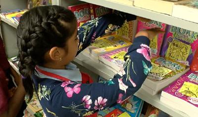 WFTS Tuttle Elementary bookstore