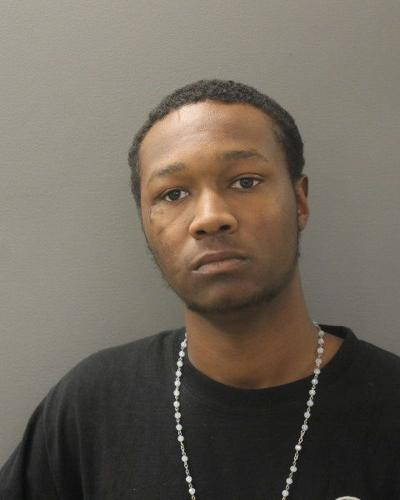 Police arrested a man on robbery charges after a brief foot chase Friday afternoon.