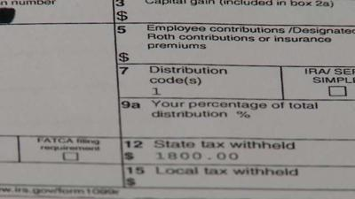 A tax warning for some state retirees