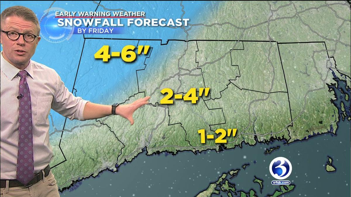 FORECAST: Winter Storm Warning issused for the state