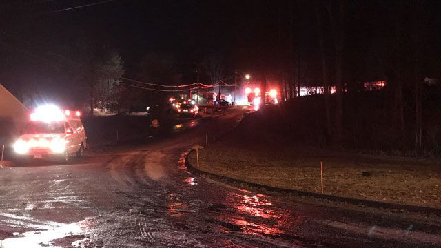Man killed in Naugatuck mobile home fire