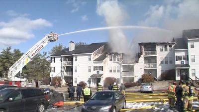 Several displaced by fire at Middletown apartment complex
