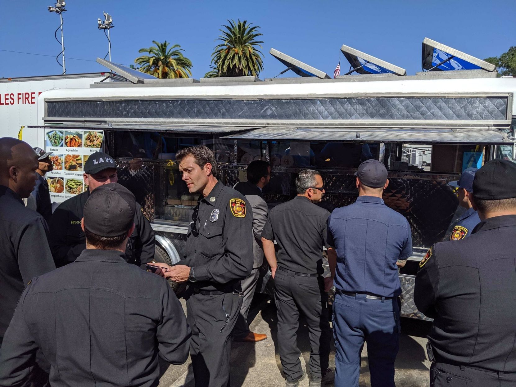 LeBron James Sends Taco Truck To California Fire 1st Responders
