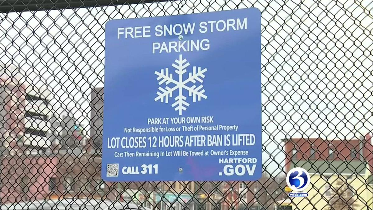 VIDEO: City of Hartford prepares for Winter Storm Yoshi