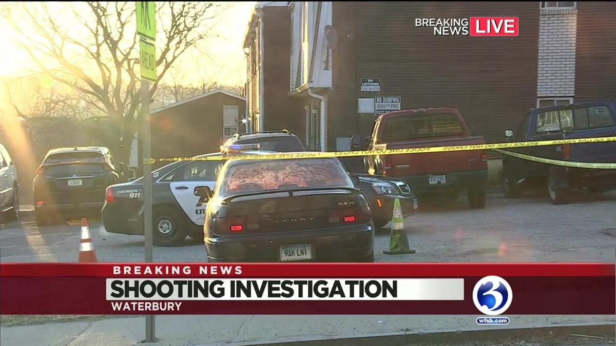 VIDEO: Man shot several times in Waterbury