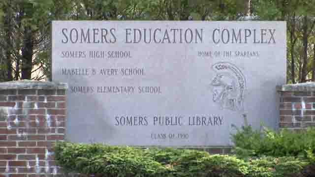 Parents upset after racist message found inside Somers school