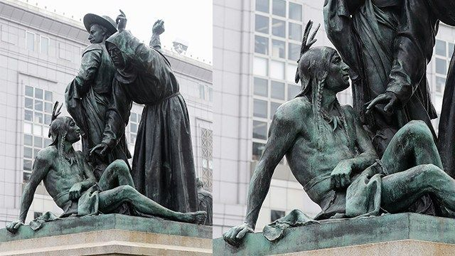 San Francisco statue that some call racist is removed
