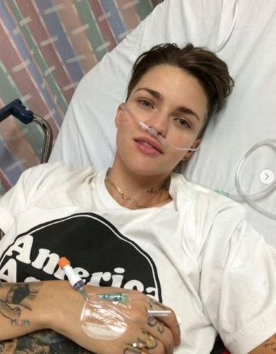 'Batwoman' star Ruby Rose says she was misdiagnosed while battling depression