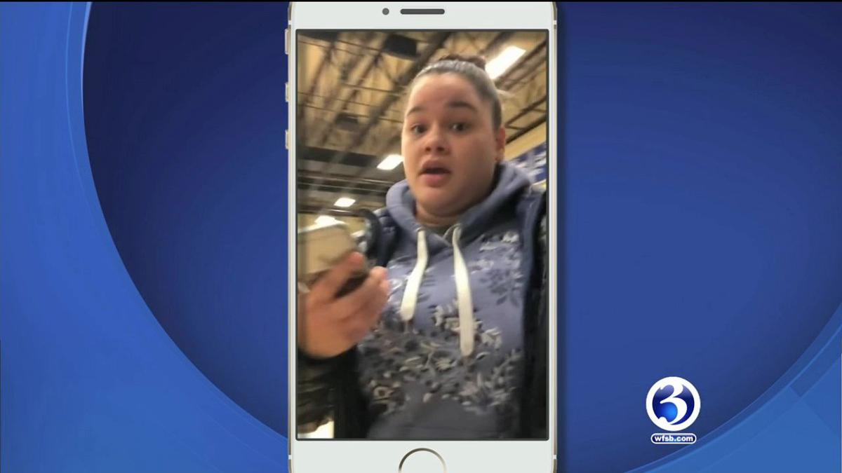 VIDEO: Woman arrested after heated basketball game confrontation