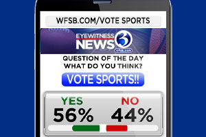 Vote in our sports poll