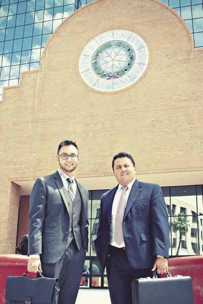 Victor and Manny Parra, 2017 winners of Best Lawyer To Get You Out Of Trouble