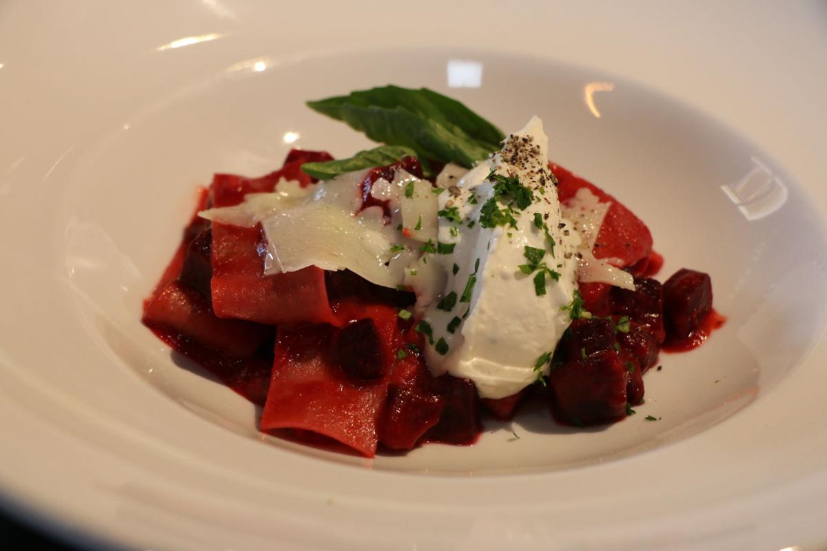 Beet pappardelle