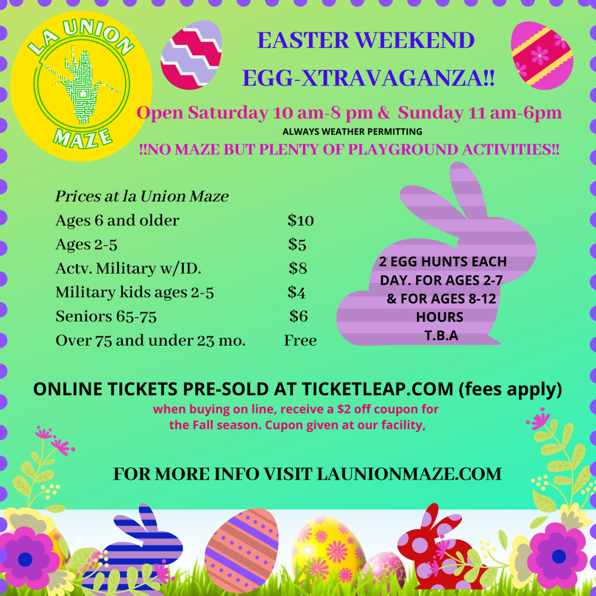 CELEBRATE EASTER AT THE FARM!!