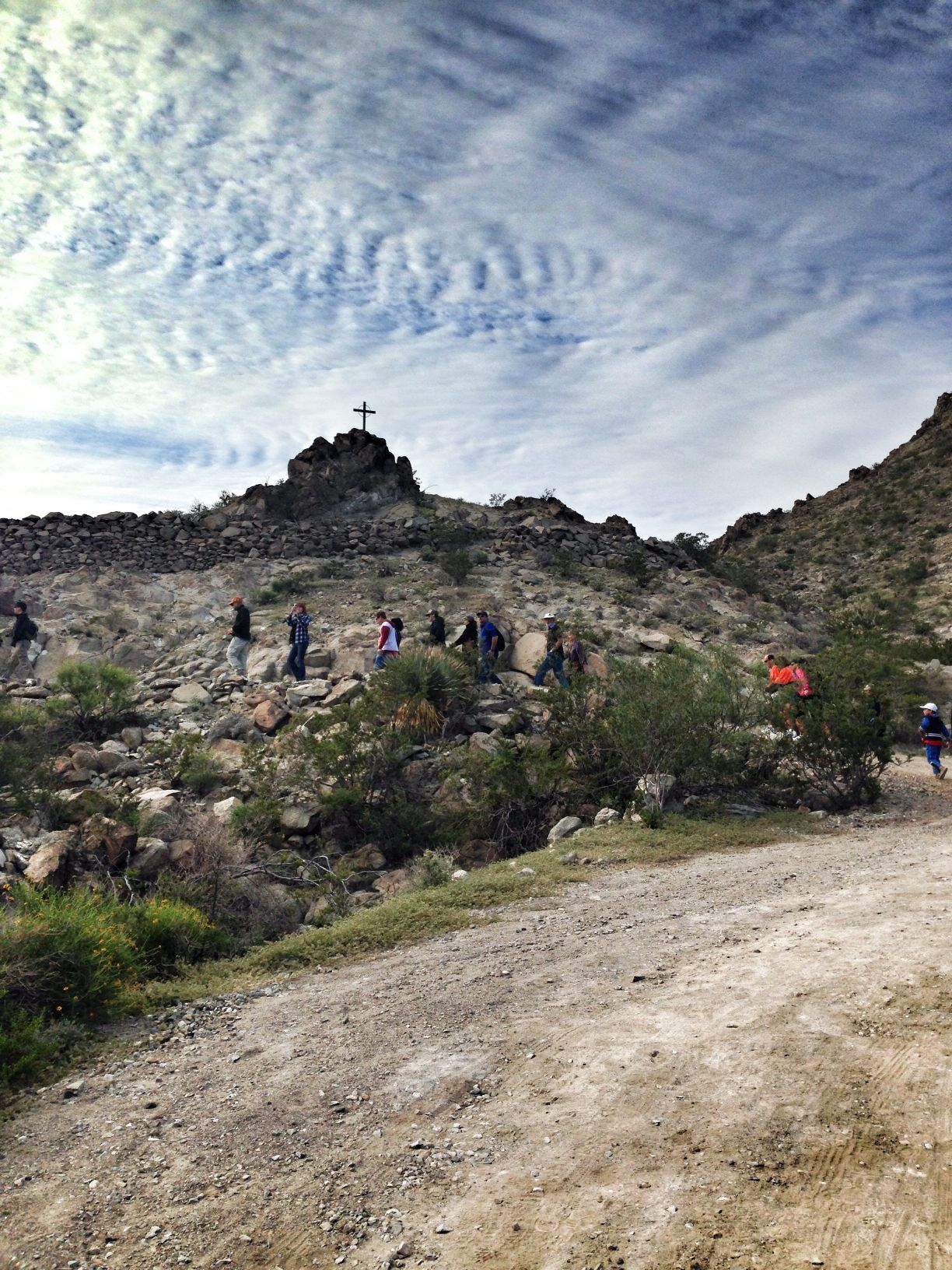 The Sun Bowl Hike, a non-religious outing, takes place Sunday, Dec. 28.
