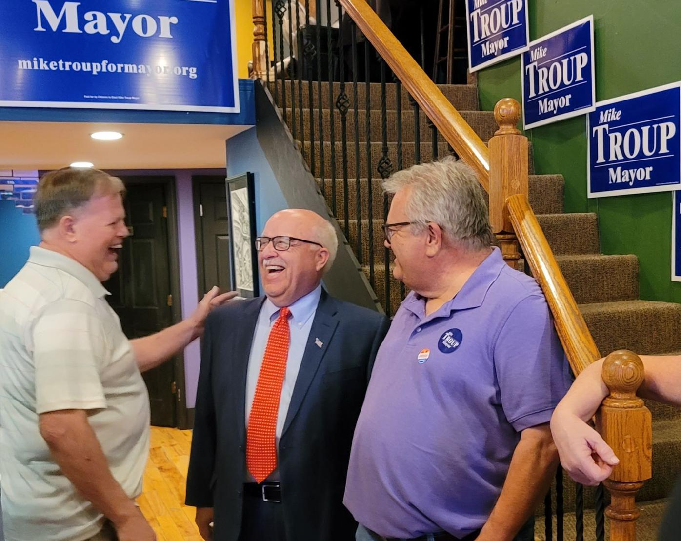 Troup elected mayor of Quincy