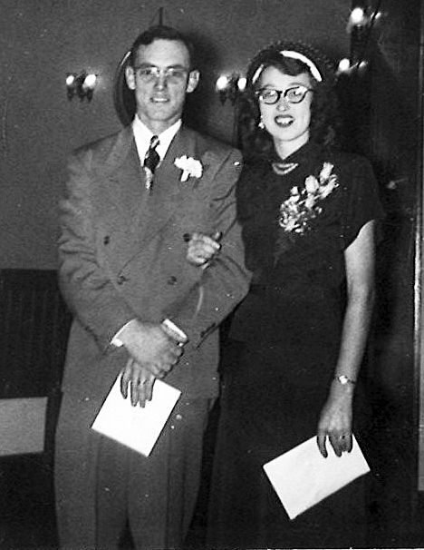 Edward 'Gene' and Betty Cox (YOUNGER)