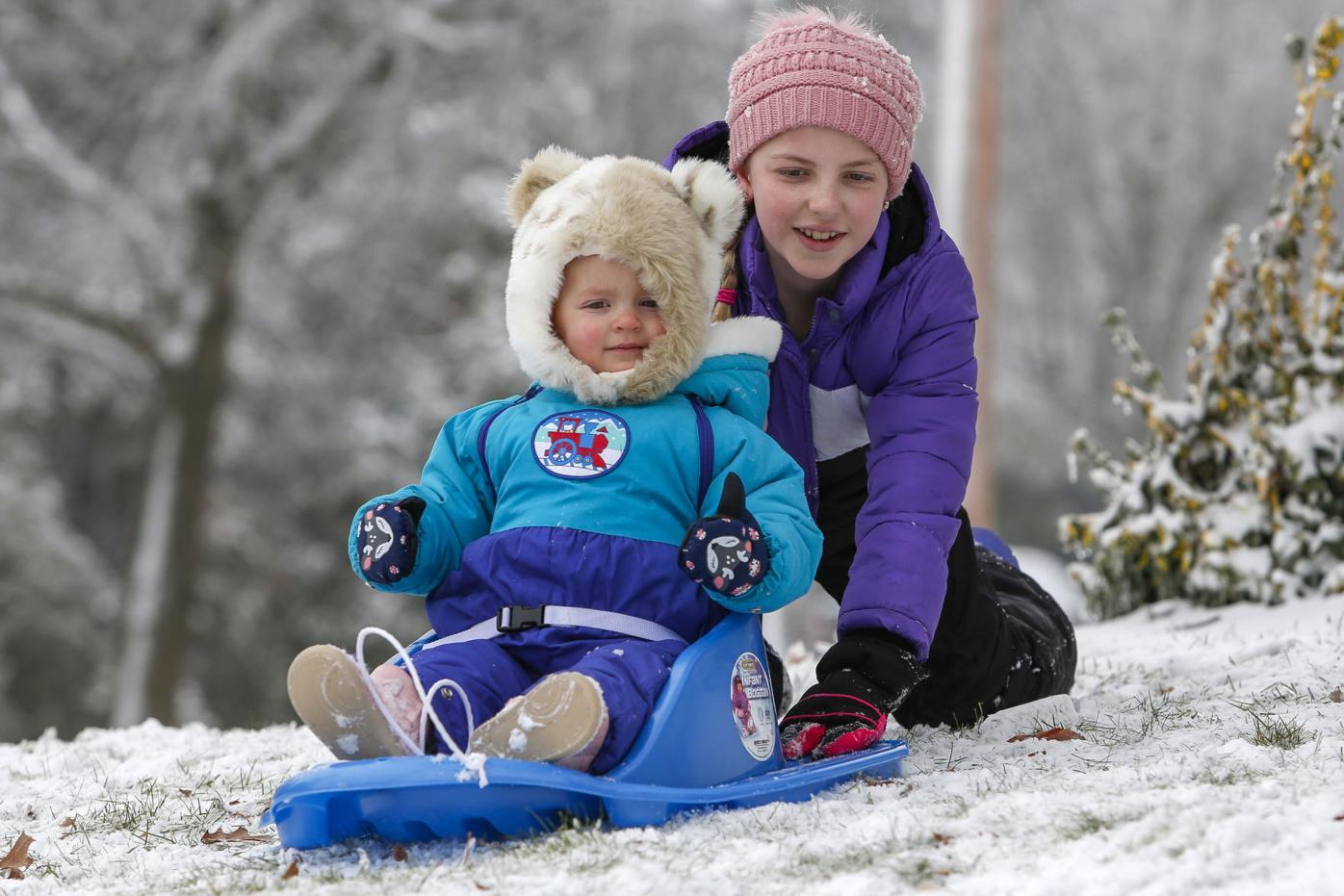 Snowy Saturday Web