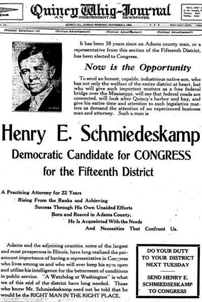 Henry Schmiedeskamp: Once Dean of Quincy Lawyers