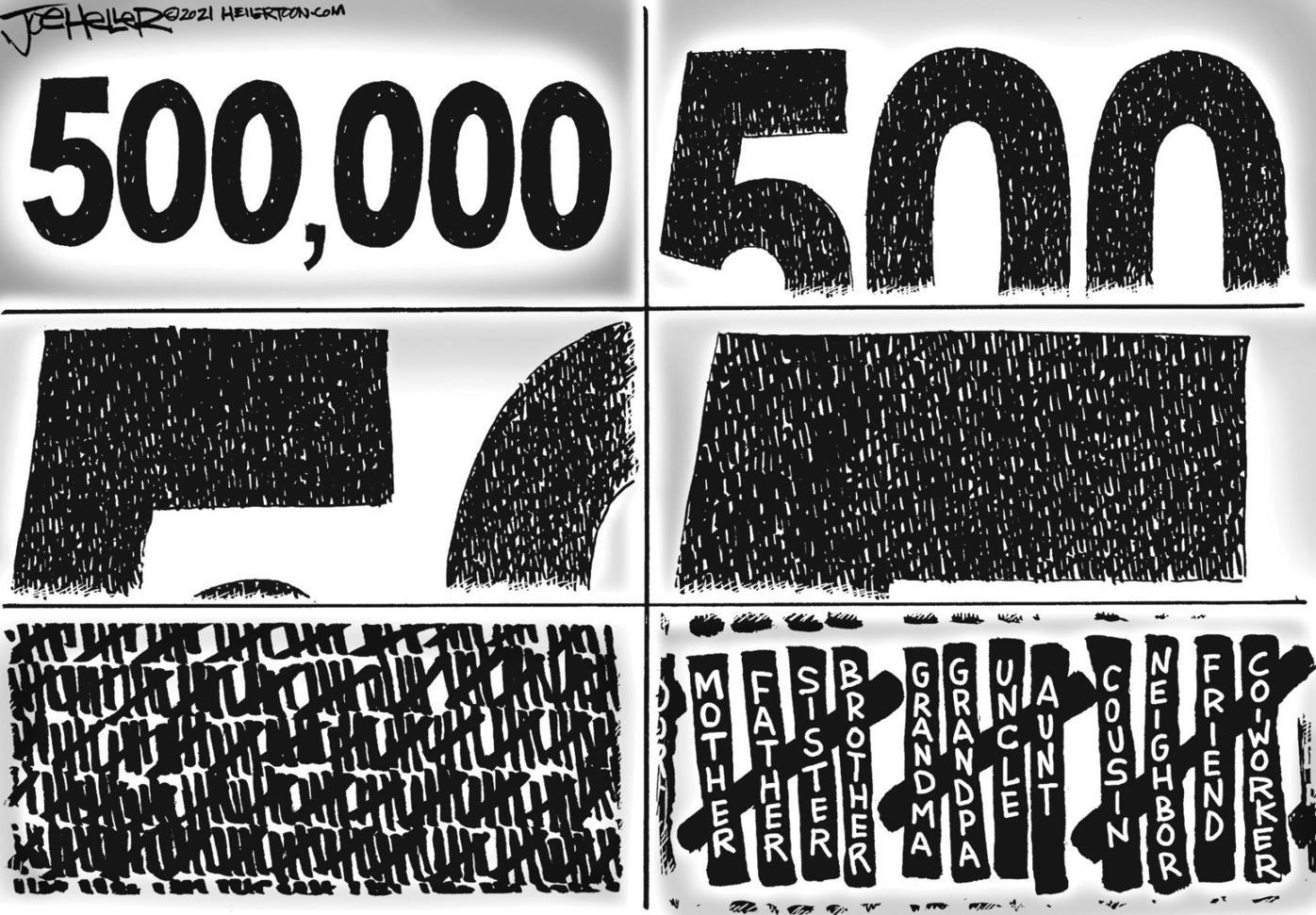 Editorial Cartoon: Feb. 24, 2021