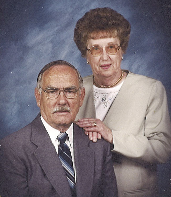 Edward 'Gene' and Betty Cox (OLDER)