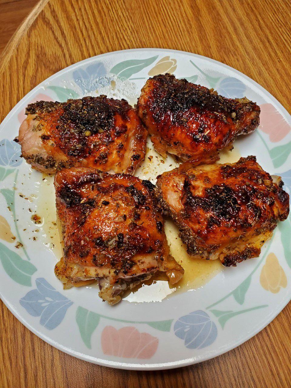 Garlic-Lemon Chicken