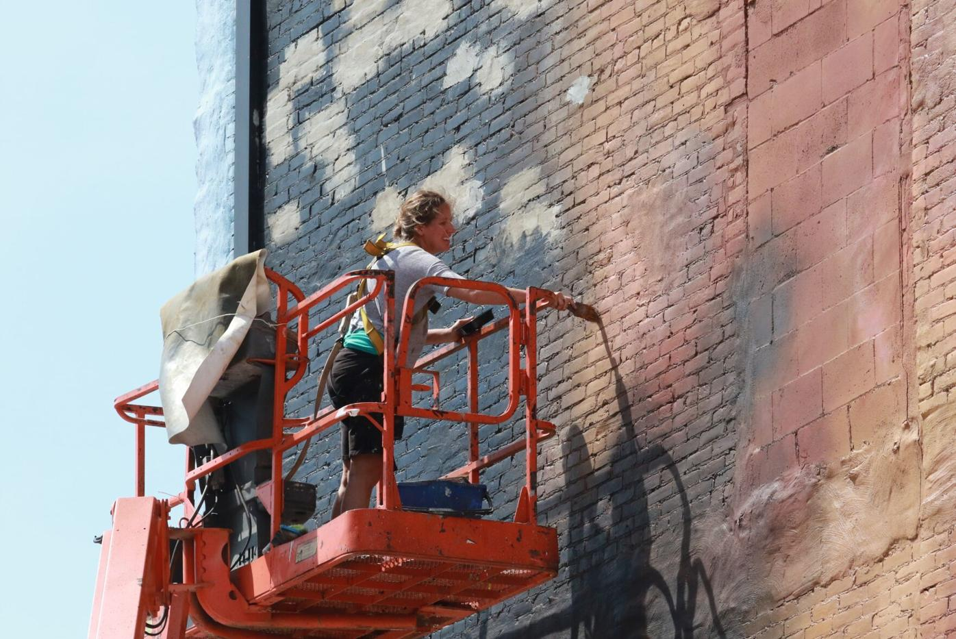 Mural Touch-up