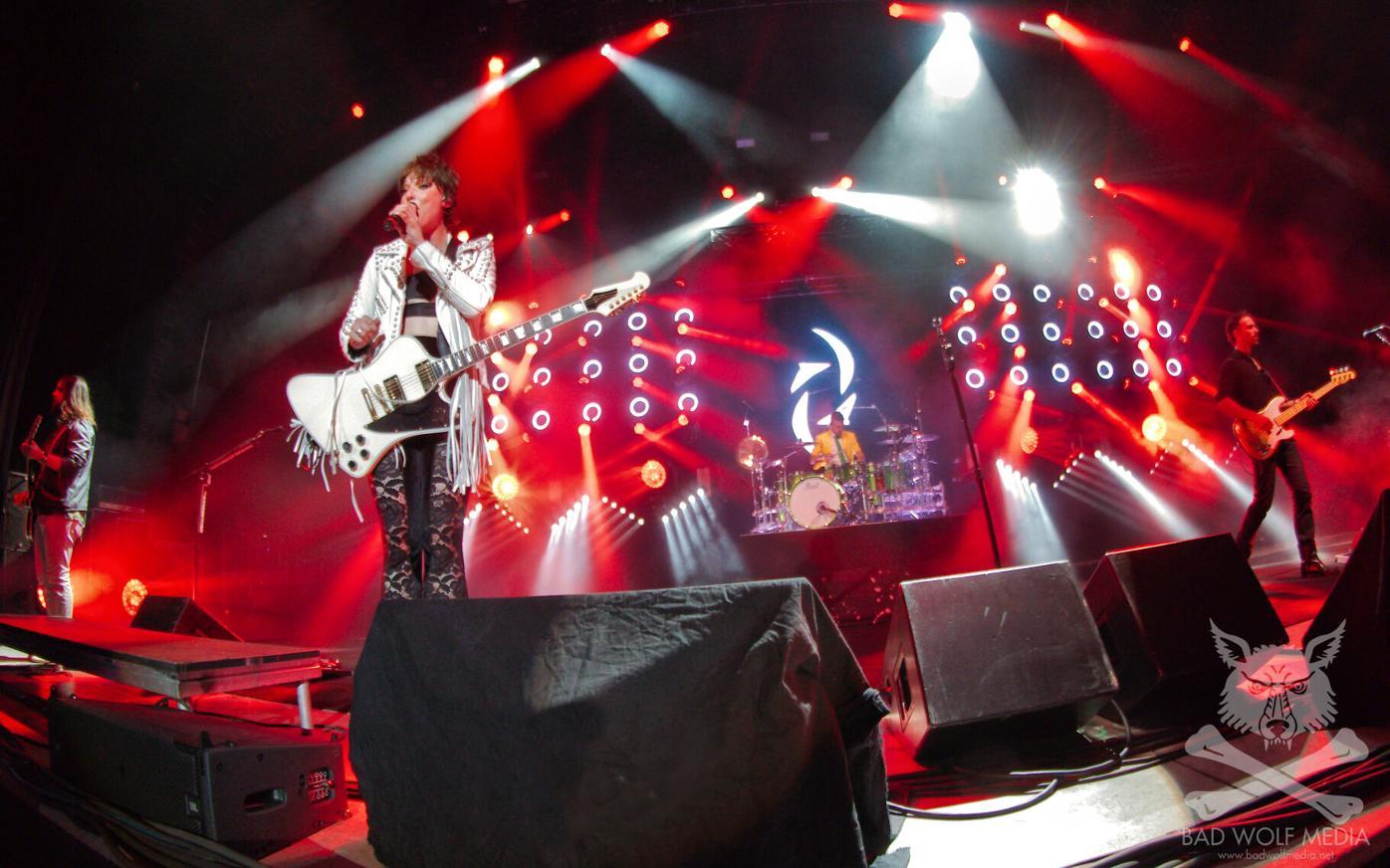Halestorm rocks the stage