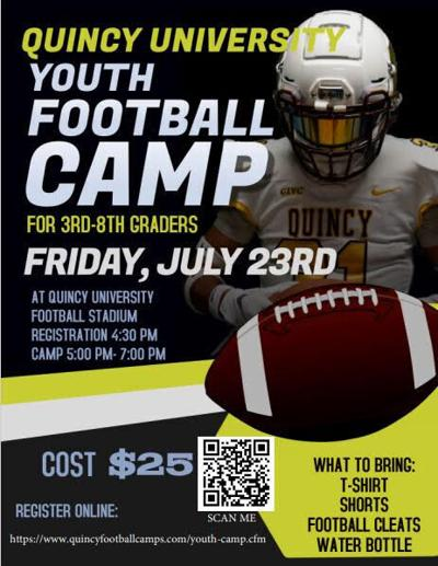 Quincy University to host youth football camp