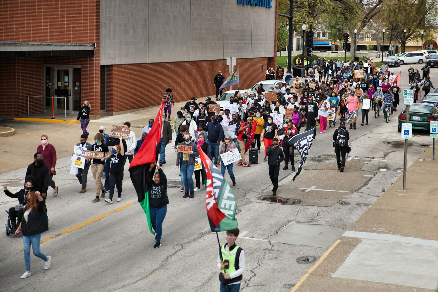 """""""Justice for Jazz"""" protest in Quincy"""
