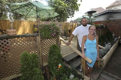LOOKIN' GOOD: Staying in Quincy spurred home improvements