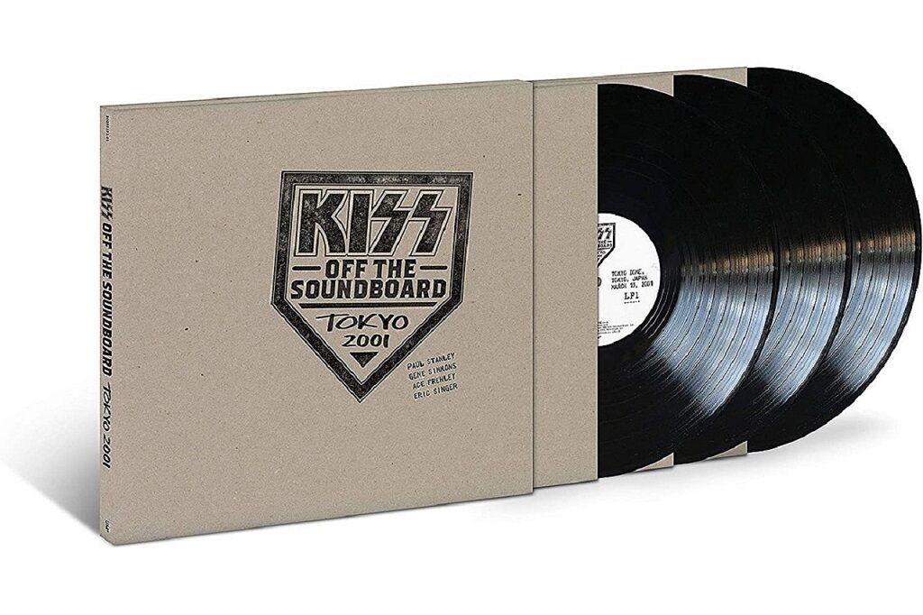 KISS Live - black vinyl