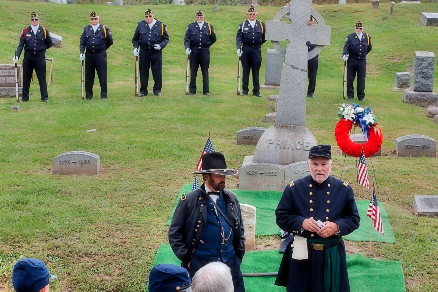 Civil War marker dedication
