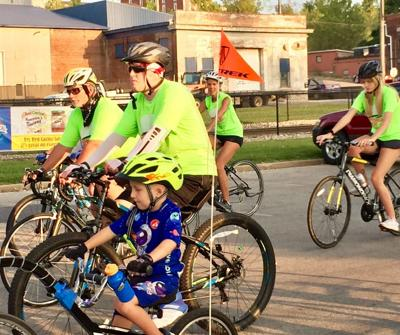 Cyclists turn out for 'a good cause and a fun time'