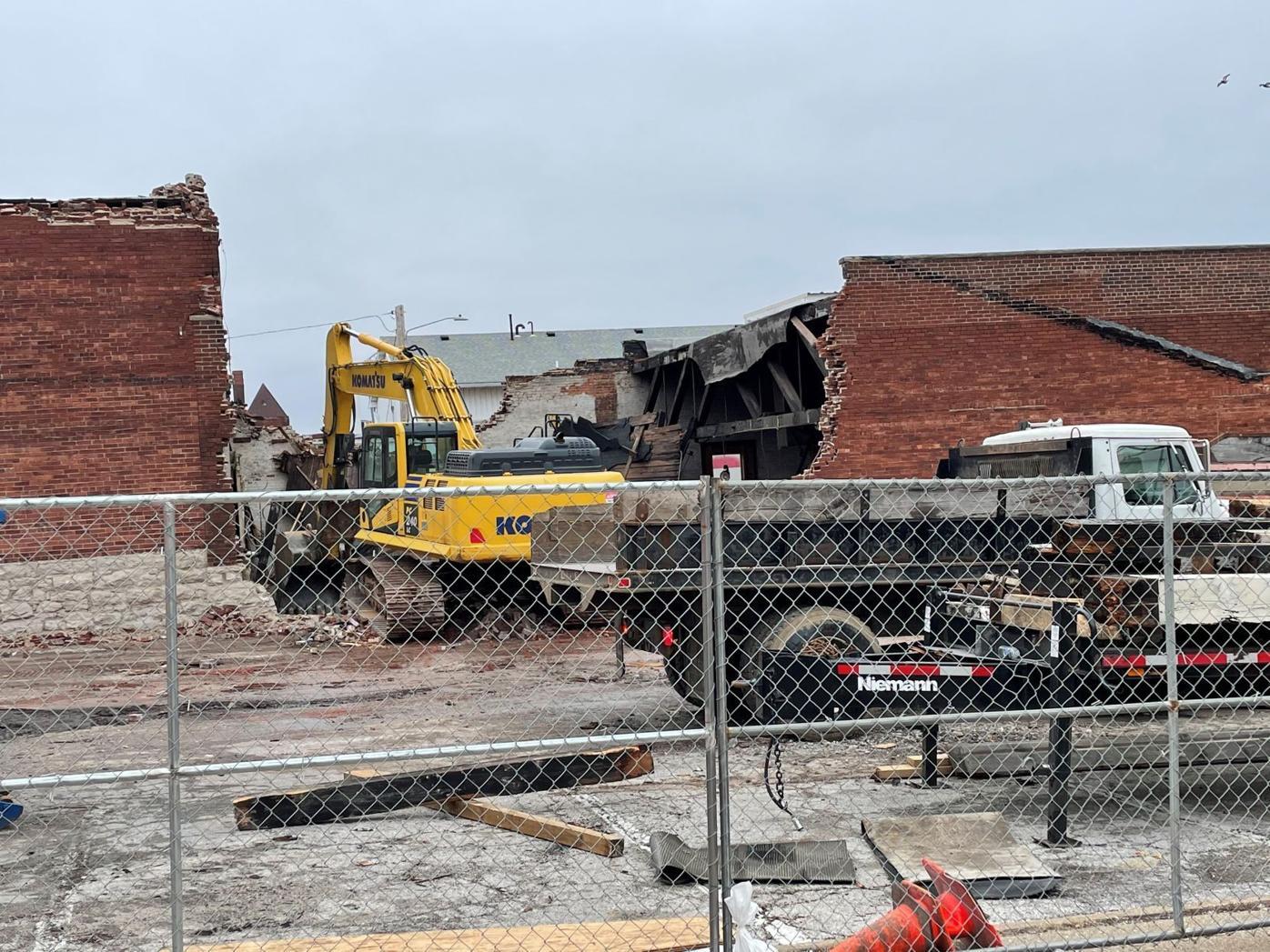 Vermont Street Demolition