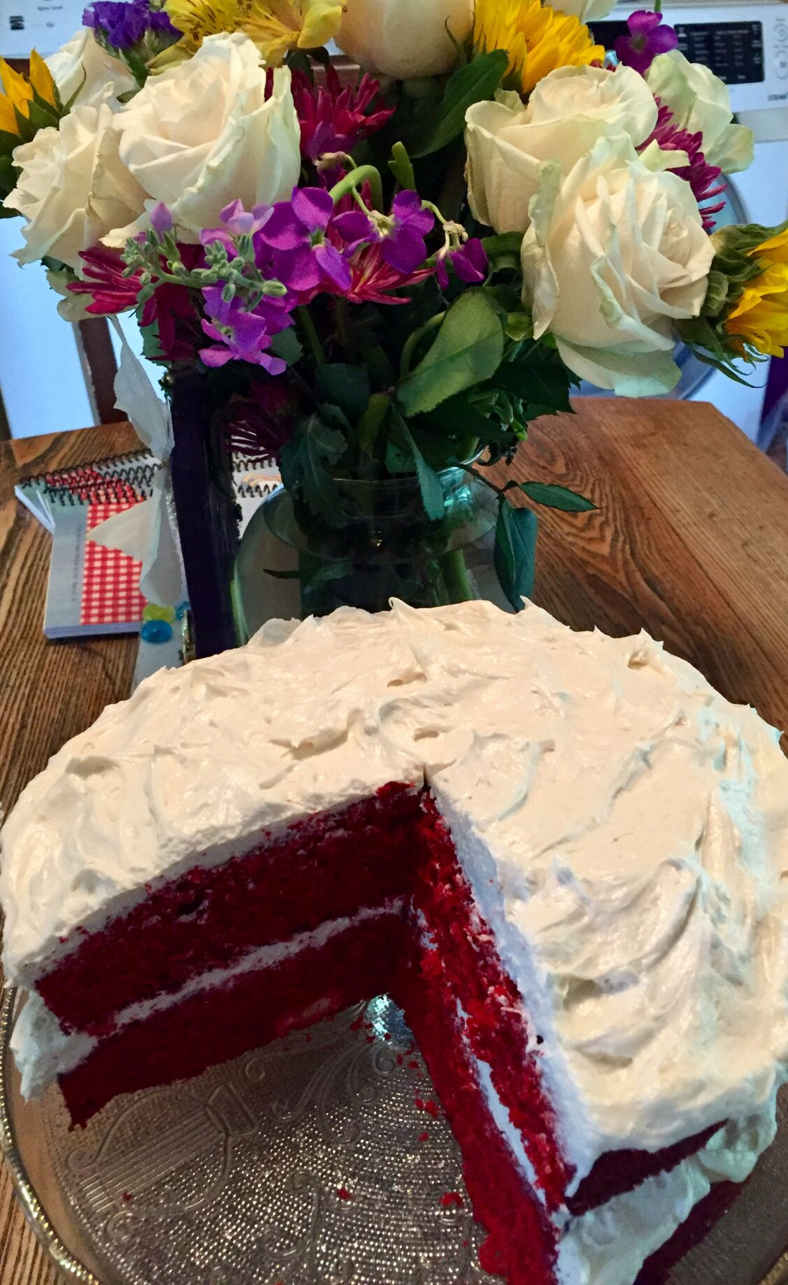 Mom's Red-Red Cake