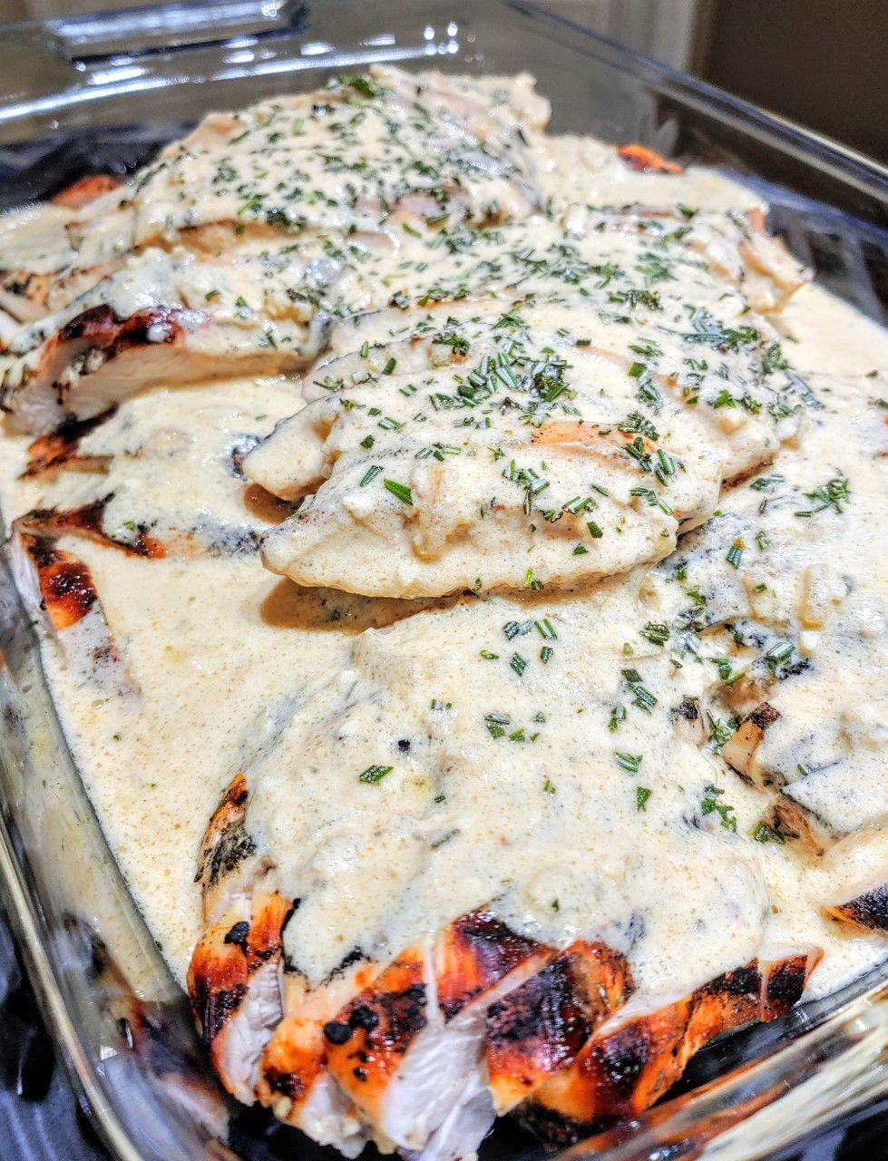 Rosemary Amaretto Grilled Chicken