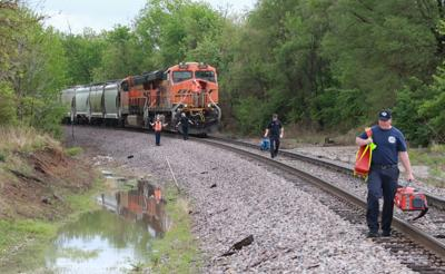Train hits pedestrian near 24th and Wismann railroad crossing