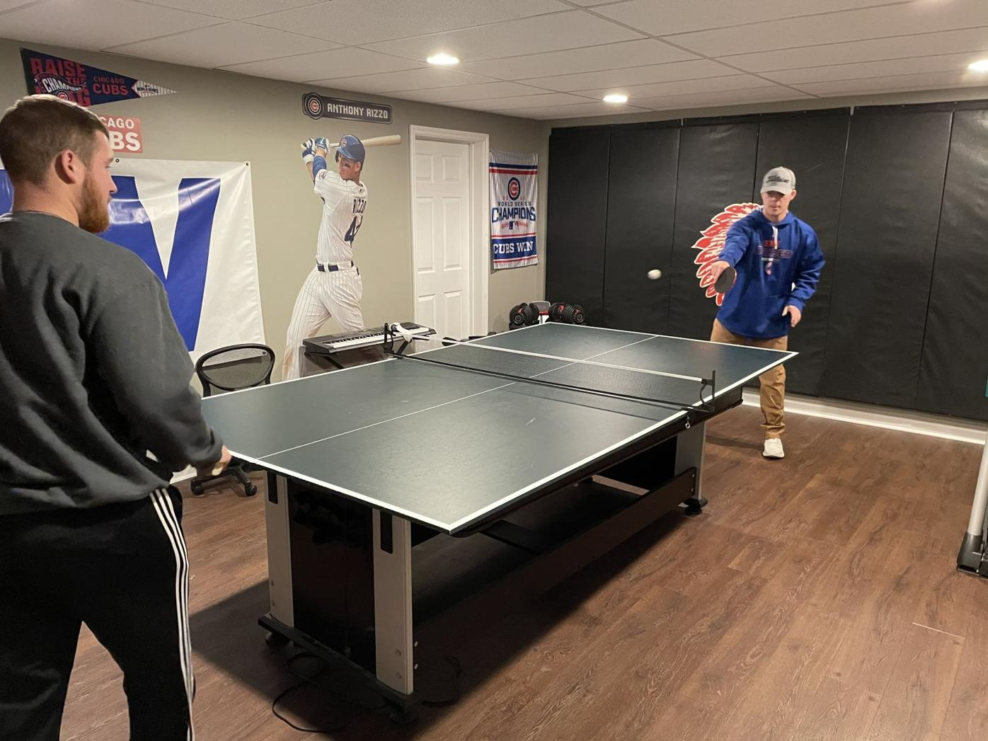 Cade Tomhave ping pong