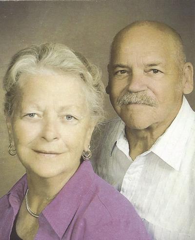 Married 50 years: Francis and Nancy Ellison