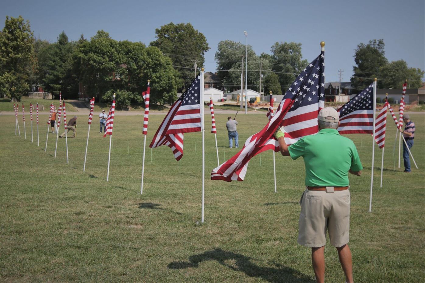 Unfurling the Field of Honor