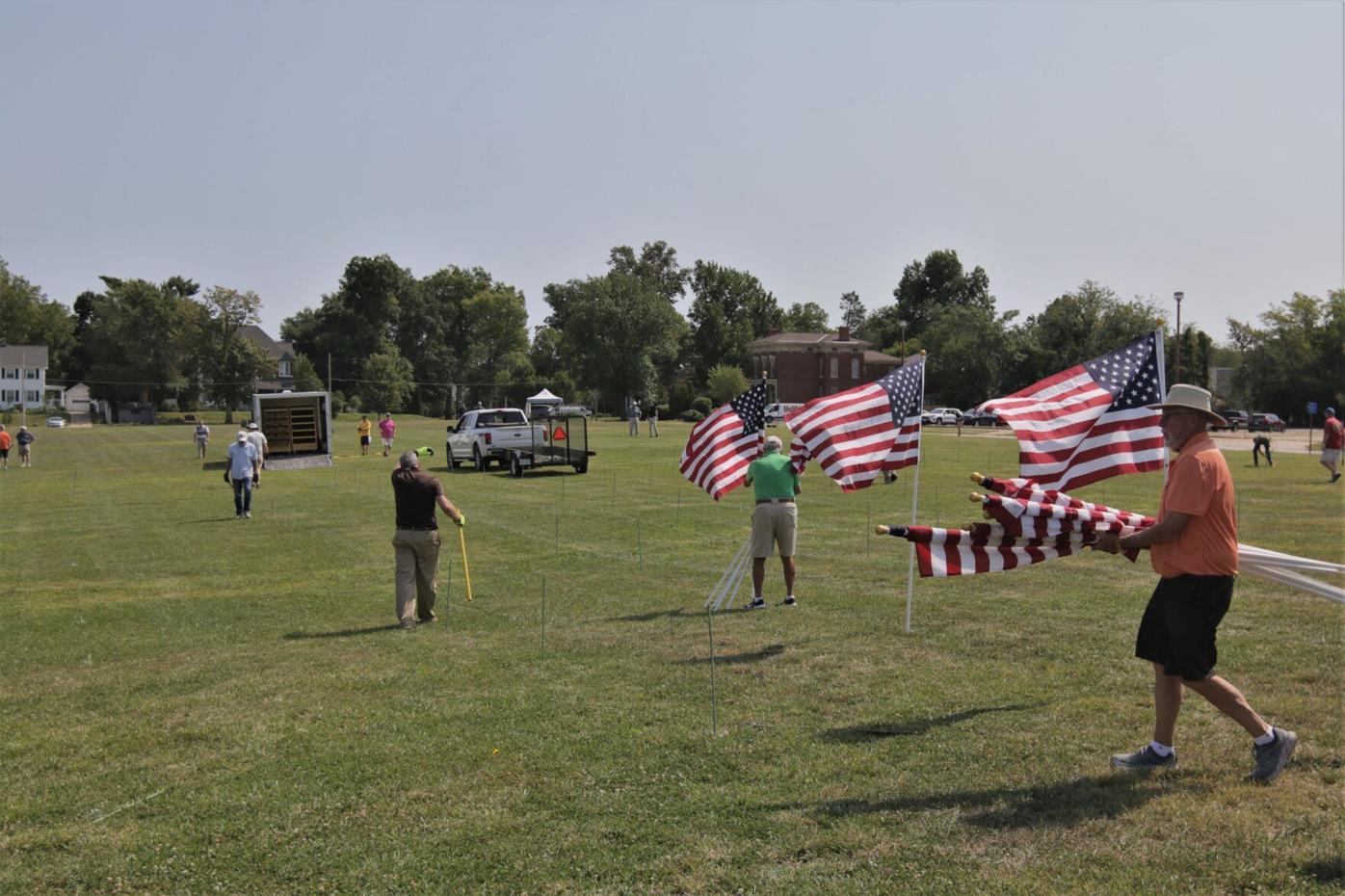 Exchange Club of Quincy's Field of Honor