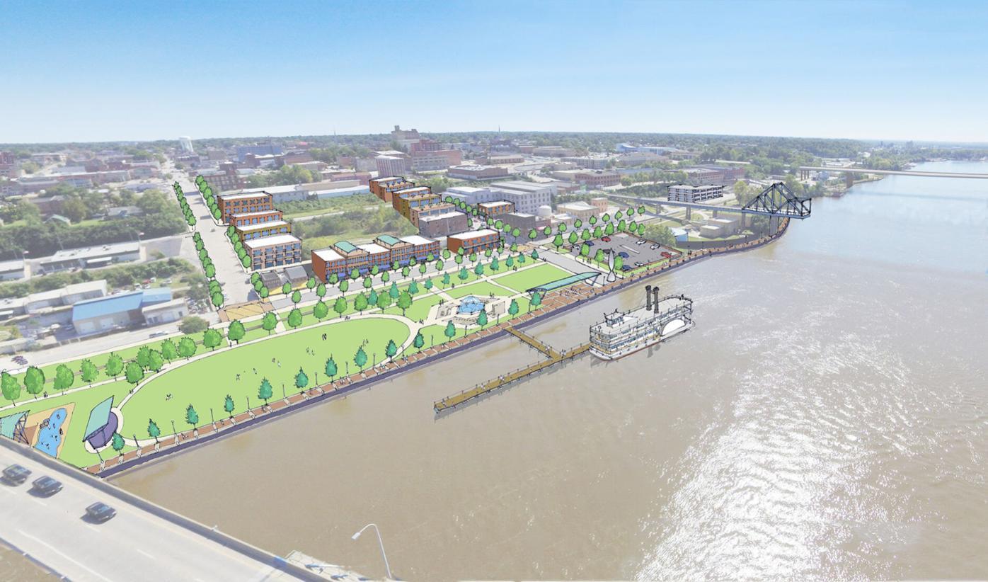 """Quincy riverfront """"Gateway"""" concept"""