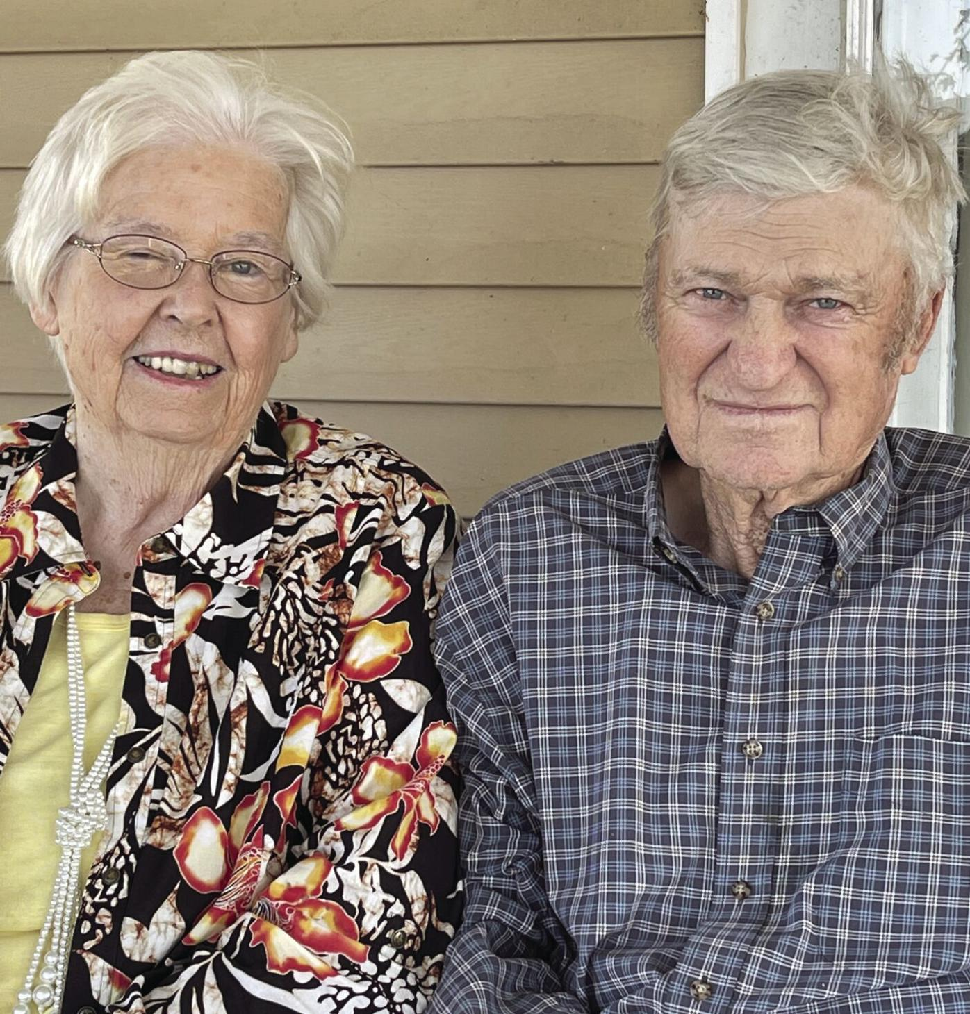 Married 60 years: Wayne and Evelyn Shelor